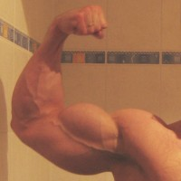 true natural bodybuilding left biceps